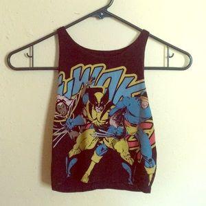 X-MEN. Crop Top. Marvel